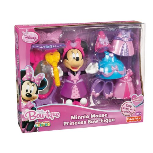 Disney Mickey Mouse and Friends Minnie Mouse Princess Bow-tique by Fisher-Price
