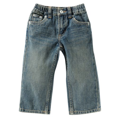 Baby Levi's 526 Back-Elastic Loose Straight-Leg Jeans
