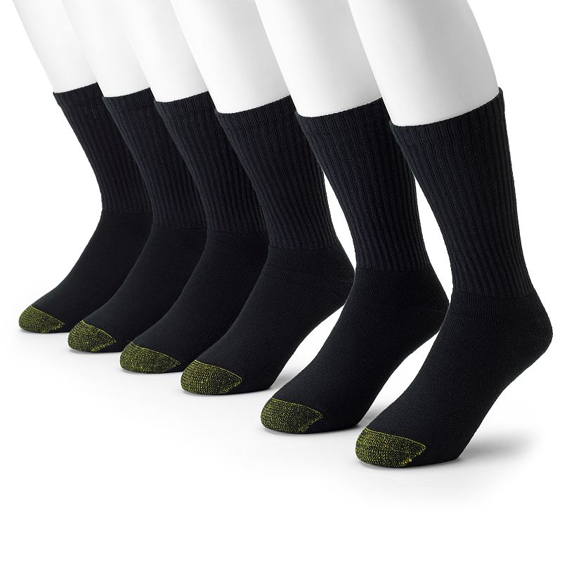 Men's GOLDTOE 6-pk. Athletic Crew Socks