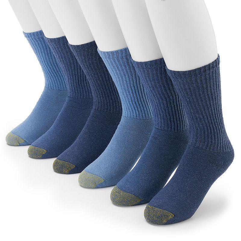 Men's GOLDTOE 6-pk. Athletic Crew Socks