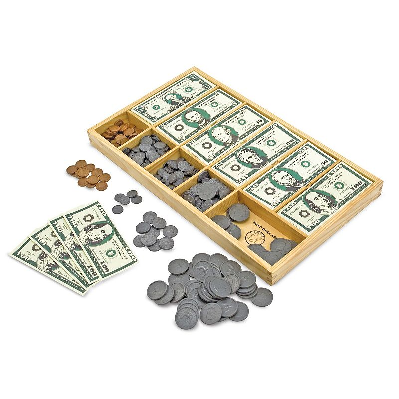 Melissa and Doug Play Money Set