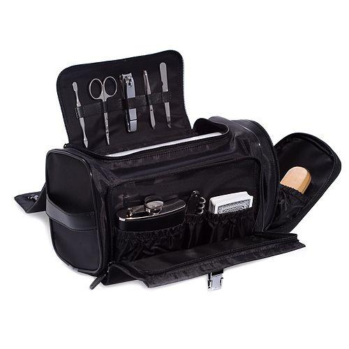 executive toiletry kit. Black Bedroom Furniture Sets. Home Design Ideas