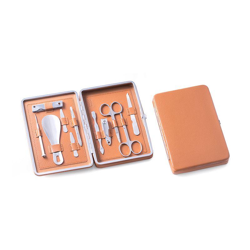 men 39 s grooming kit 10 pc dealtrend. Black Bedroom Furniture Sets. Home Design Ideas