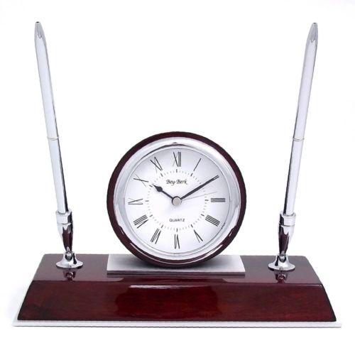 Desk Clock with Pens