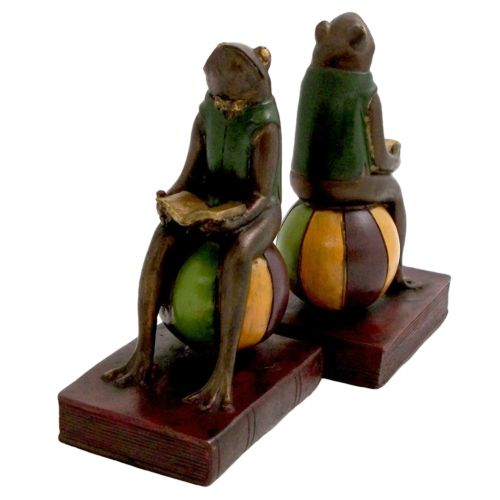 Frog Book Ends