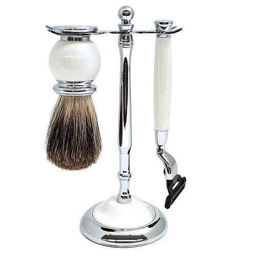 3 pc shaving kit. Black Bedroom Furniture Sets. Home Design Ideas