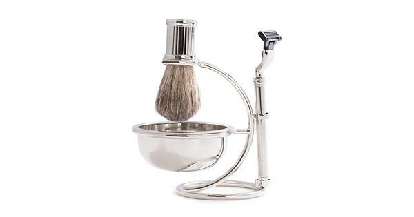4 pc shaving kit. Black Bedroom Furniture Sets. Home Design Ideas