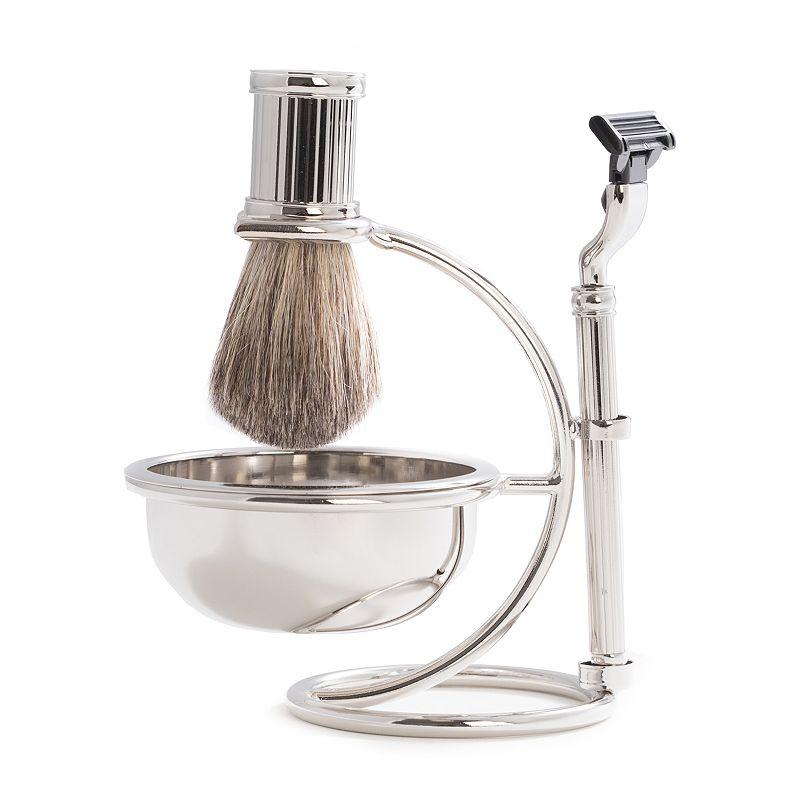 4 pc shaving kit dealtrend. Black Bedroom Furniture Sets. Home Design Ideas