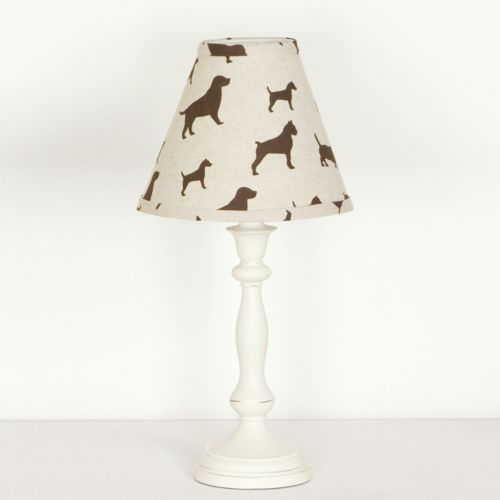 N. Selby by Cotton Tale Houndstooth Lamp
