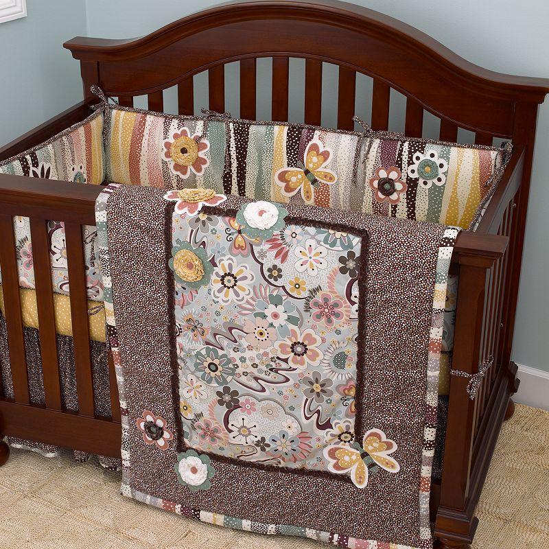 Cotton Tale Penny Lane 4-pc. Crib Bedding Set
