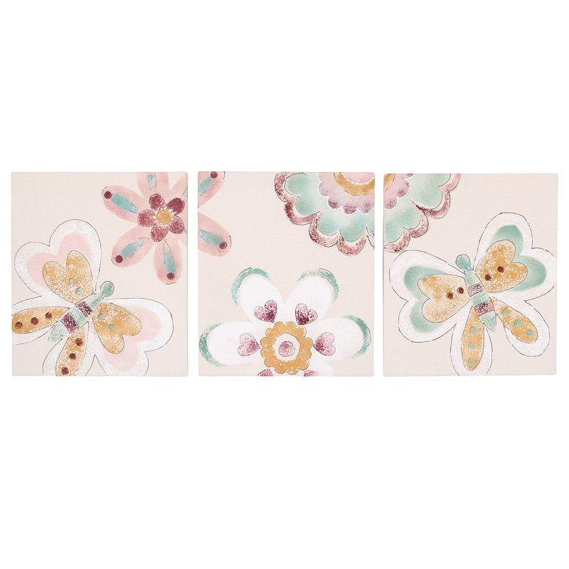 Cotton Tale Penny Lane 3-pc. Wall Art Set