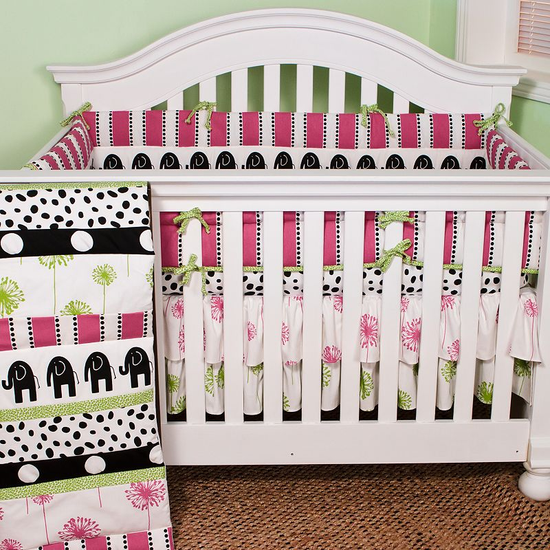 N. Selby by Cotton Tale Hottsie Dottsie 4-pc. Crib Bedding Set