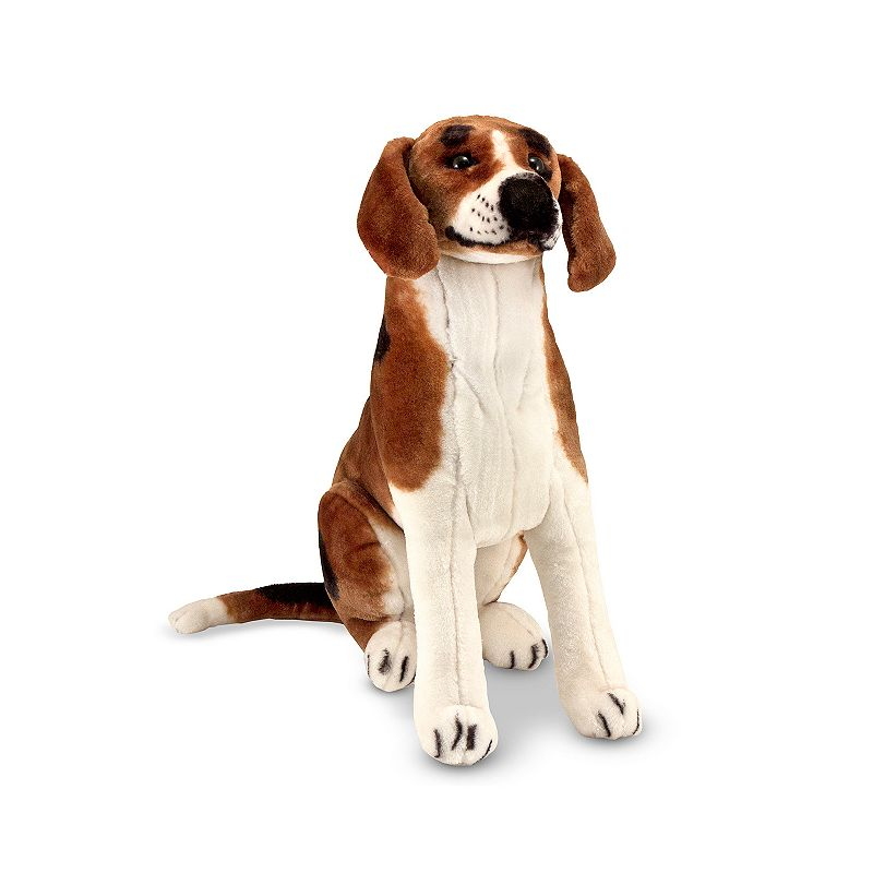 Melissa and Doug Beagle Dog Giant Plush