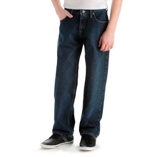 Boys 8-20 Lee Loose Fit Straight-Leg Jeans