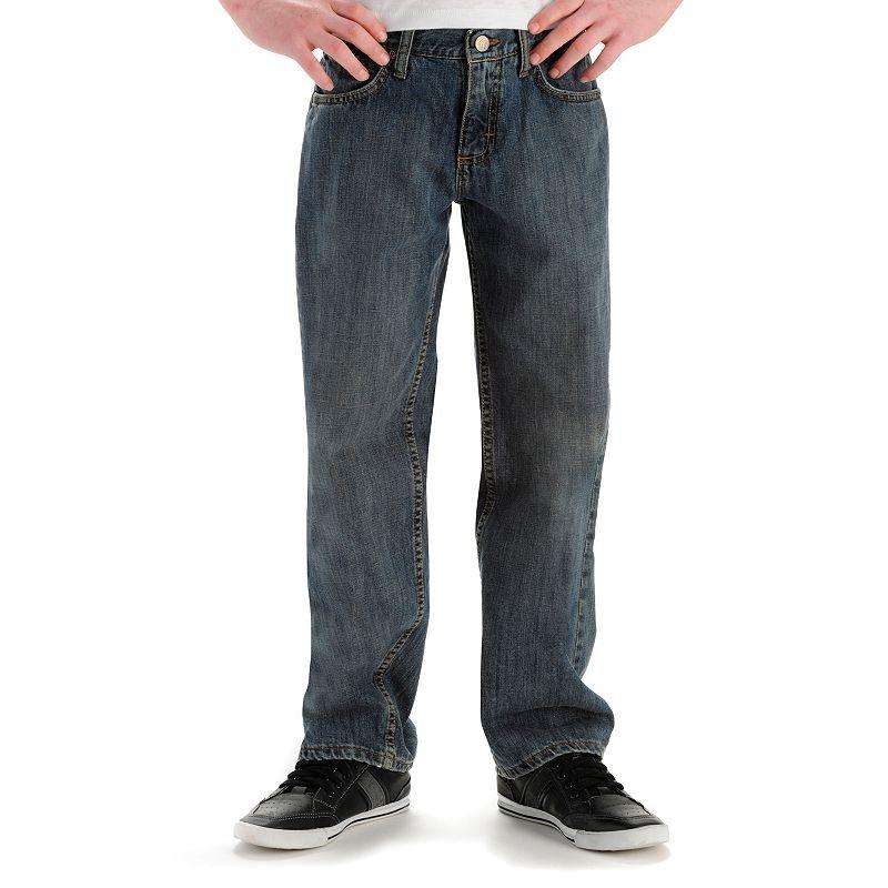 Boys 8-20 Lee Loose Fit Straight-Leg Jeans