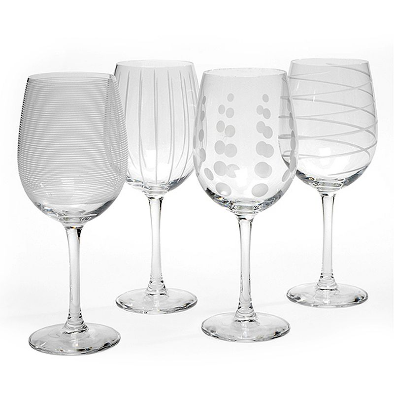 Mikasa Cheers 4-pc. White Wine Glass Set