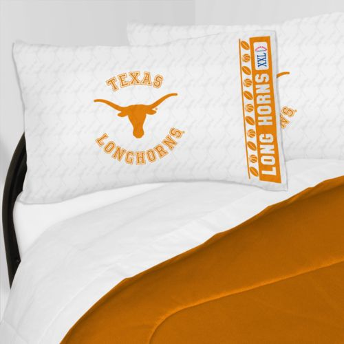 Texas Longhorns Sheet Set - Queen