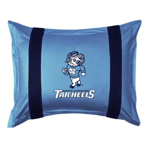 North Carolina Tar Heels Standard Pillow Sham