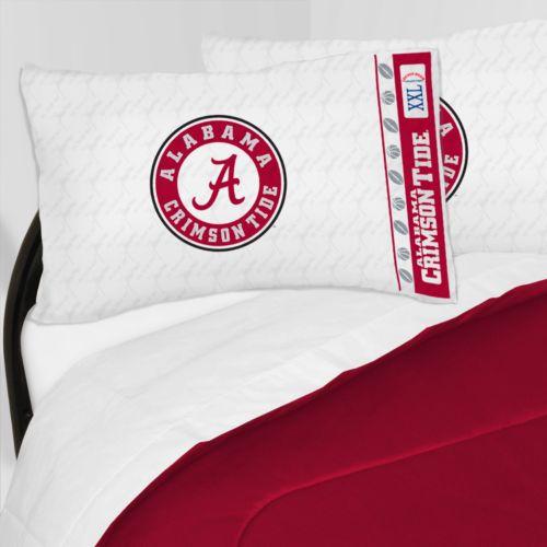 Alabama Crimson Tide Sheet Set - Full