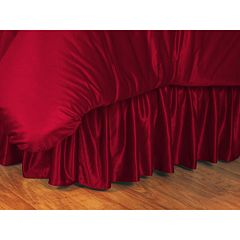 Alabama Crimson Tide Bedskirt Queen by