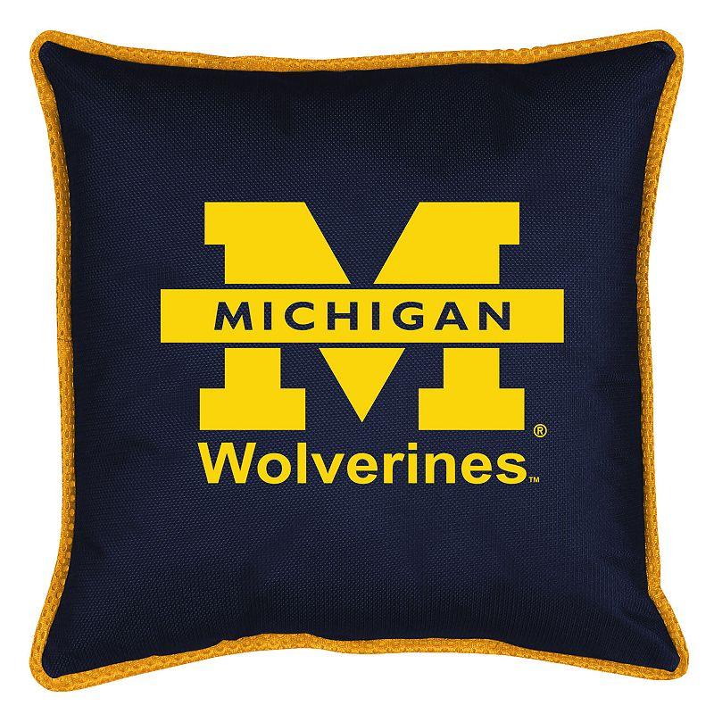Michigan Wolverines Decorative Pillow