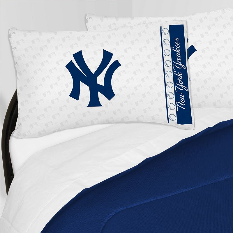 New York Yankees Sheet Set - Queen