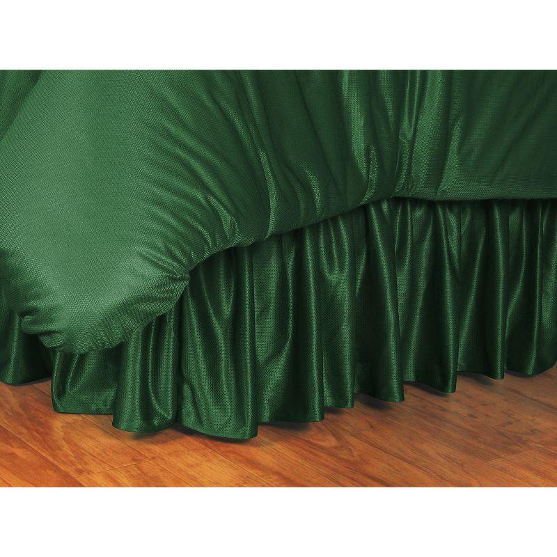 Boston Celtics Bedskirt - Twin, Green thumbnail