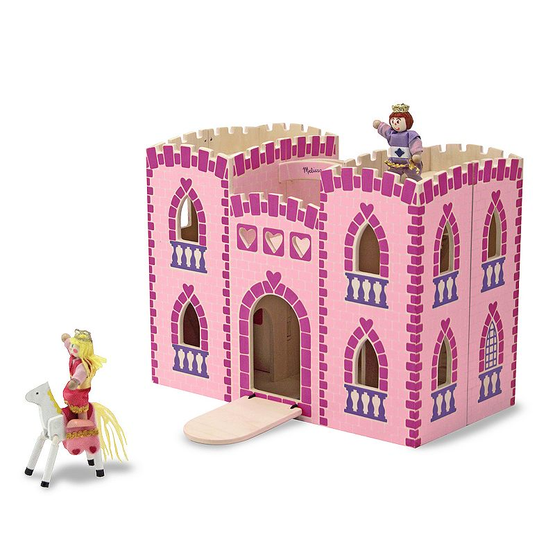 Melissa and Doug Fold and Go Princess Castle
