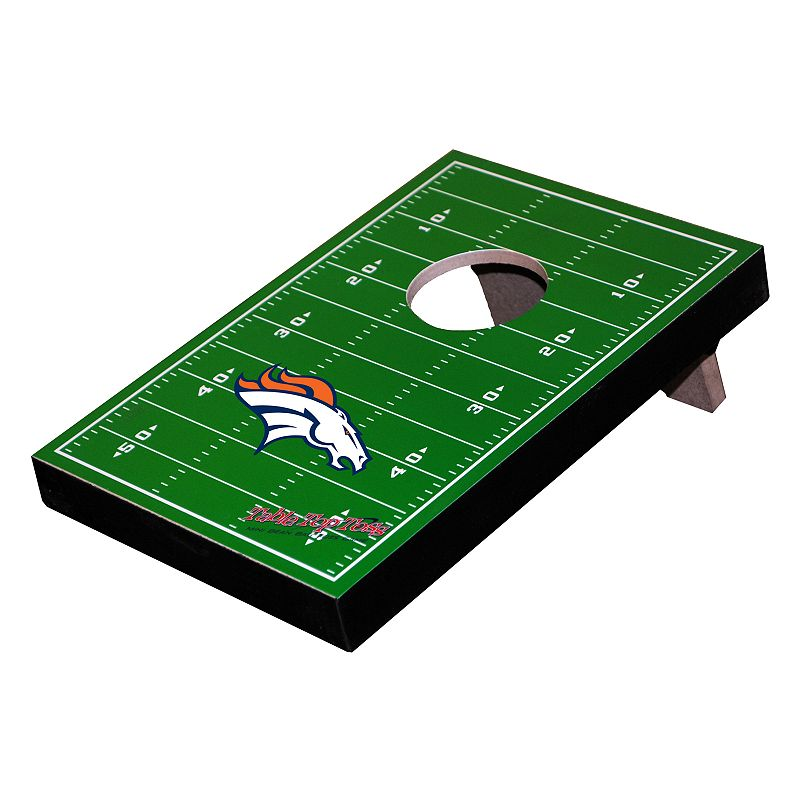 Denver Broncos Mini Tailgate Toss Beanbag Tabletop Game