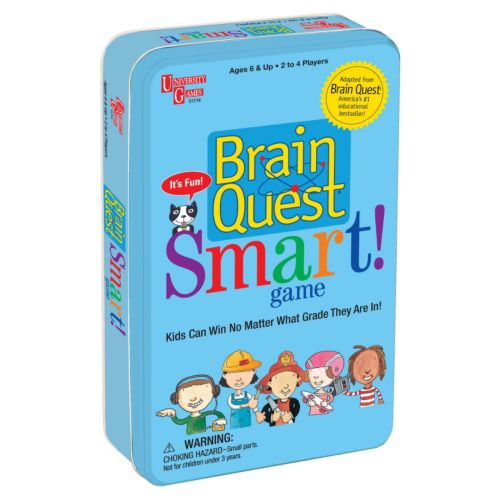 Brain Quest Smart! Game Tin by University Games