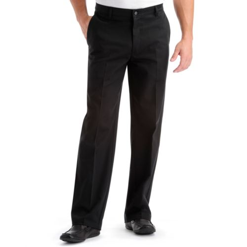 Lee Comfort Fit Flat-Front Pants