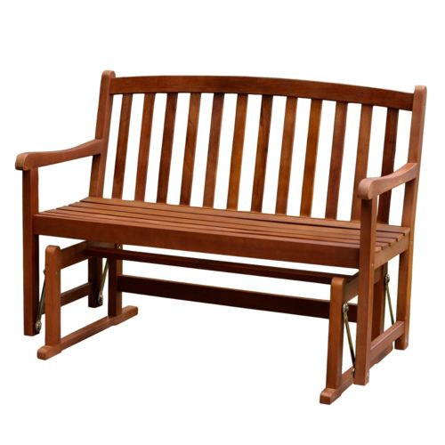 Merry Products Glider Patio Bench - Outdoor