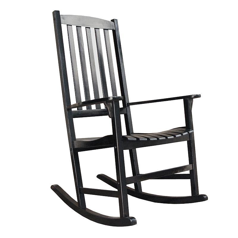 rocking chair outdoor black classic porch rocking chair outdoor black ...