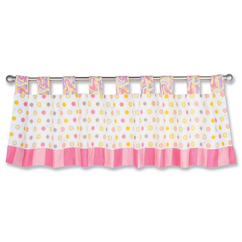 Dr. Seuss Oh The Places You'll Go Window Valance by Trend Lab - Pink