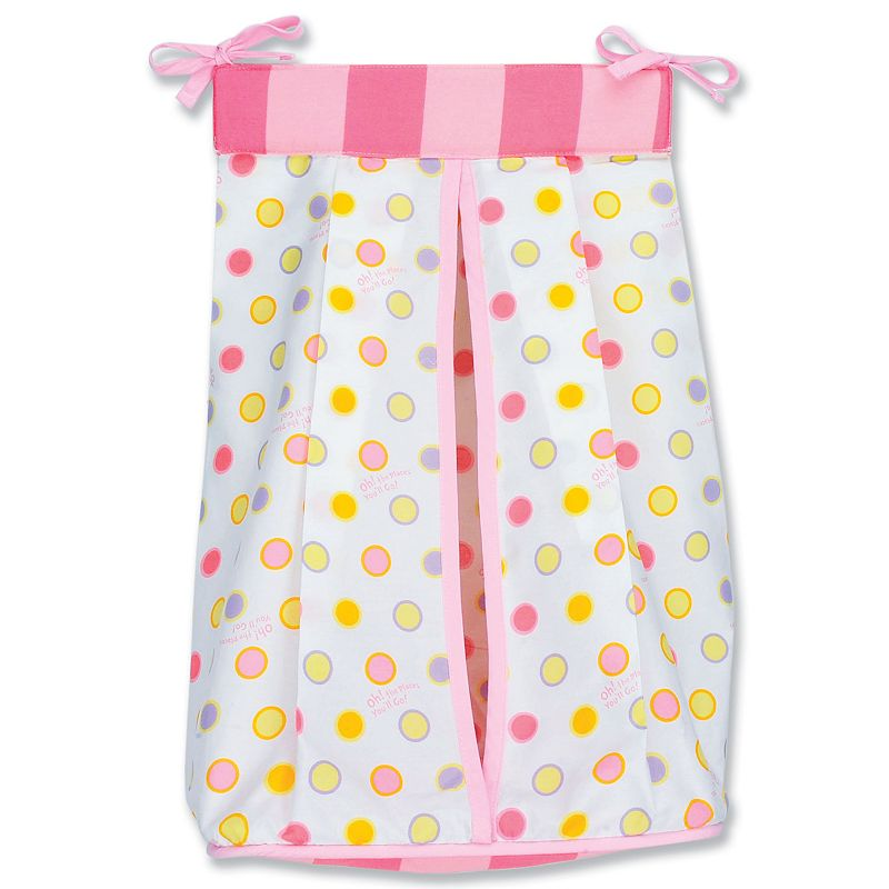 Dr. Seuss Oh The Places You'll Go Diaper Stacker by Trend Lab - Pink