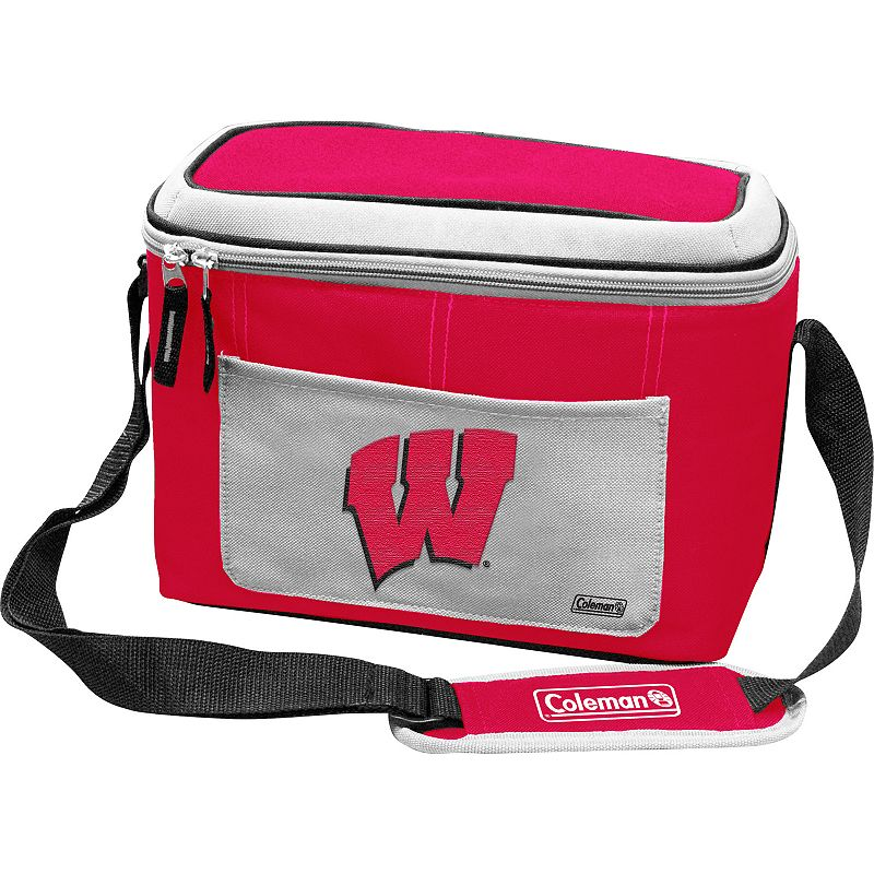 Coleman Wisconsin Badgers 12-Can Soft-Side Cooler