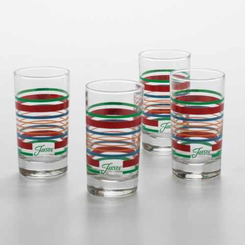 Fiesta 4-pc. Juice Glass Set