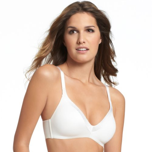 Warner's Bra: Back to Smooth Wireless Bra 1275 - Women's