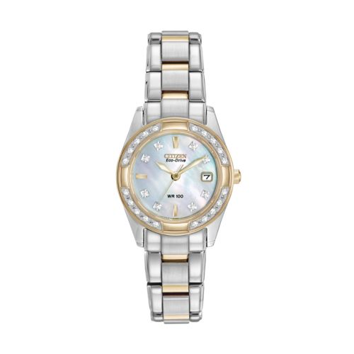 Citizen Watch - Women's Eco-Drive Regent Two Tone Stainless Steel - EW1824-57D