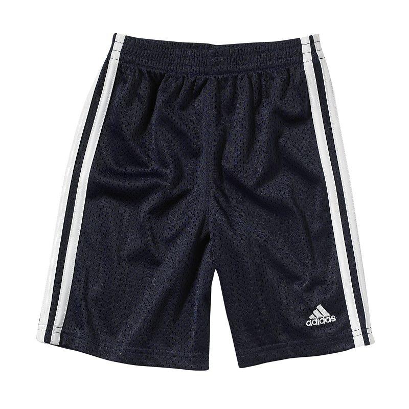 Boys 4-7x adidas Side-Striped Mesh Shorts
