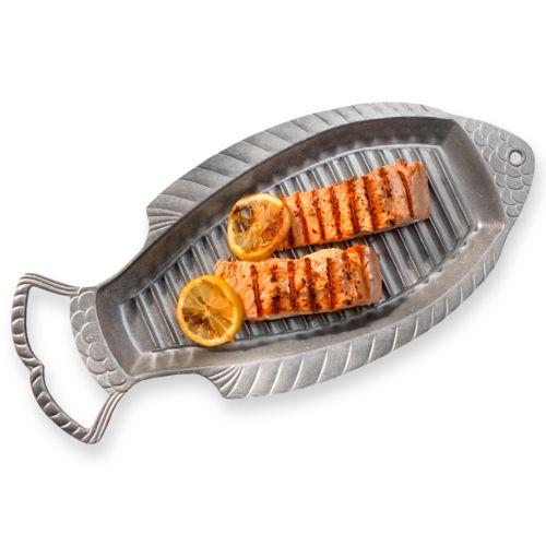 Wilton Armetale Grillware 18-in. Fish Griller