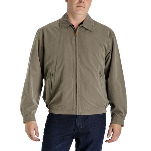 Towne by London Fog Microfiber Golf Jacket - Men