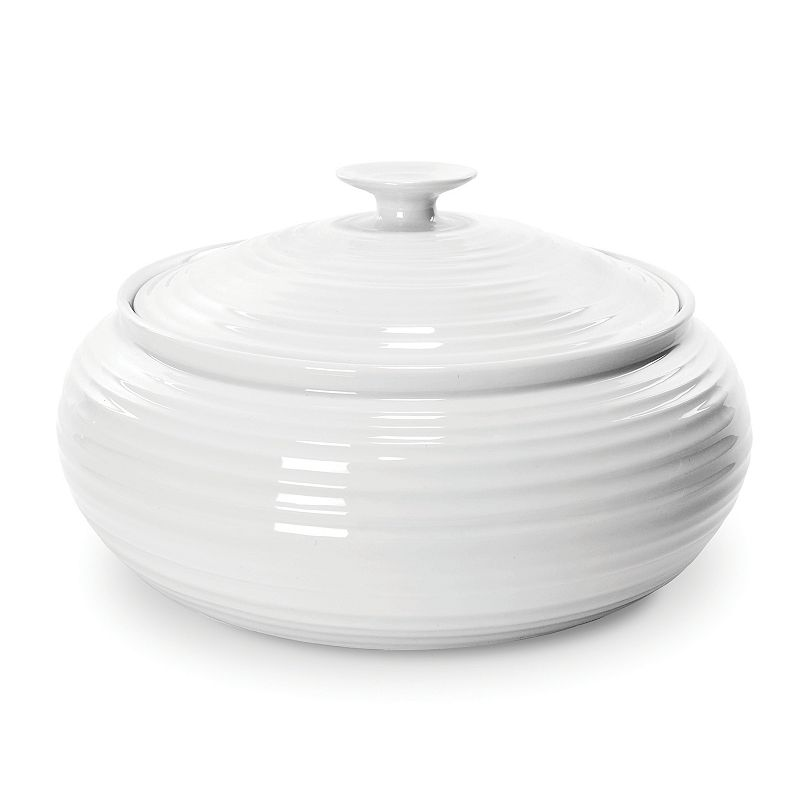 Portmeirion Sophie Conran White 96-oz. Covered Casserole Dish