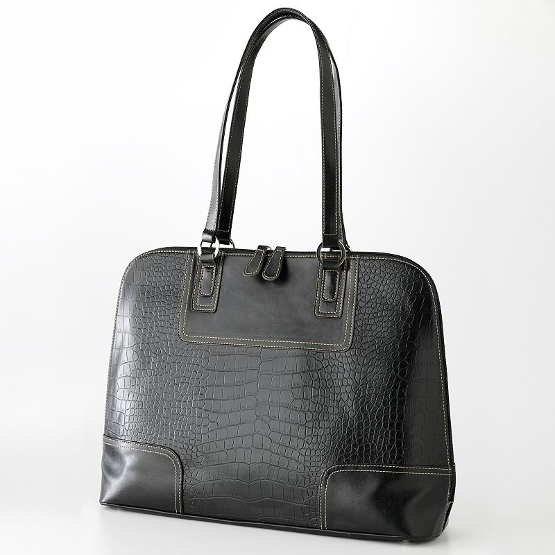 Croft & Barrow® Exotic Julia Dome Tote
