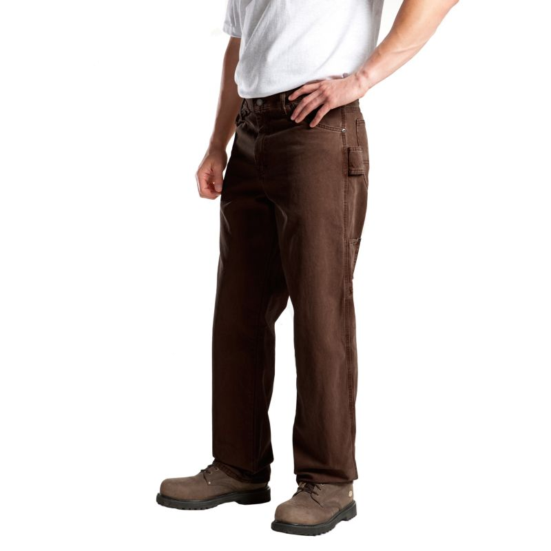 Big & Tall Dickies Relaxed-Fit Duck Carpenter Pants, Men's, Size: 46X30, Brown thumbnail