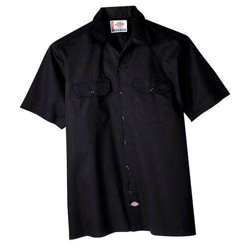 Big tall dickies original fit work shirt for Dickies big tex shirt
