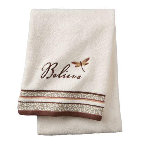 Inspire Scroll Bath Towel