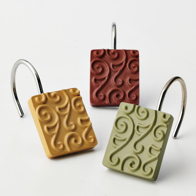 Inspire 12-pk. Scroll Shower Curtain Hooks