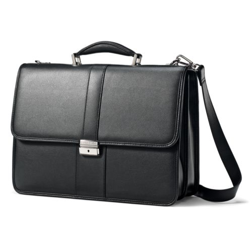 Samsonite Luggage, Classic Leather 15.6-in. Laptop Briefcase