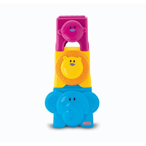Fisher-Price Growing Baby Animal Stack and Nest Blocks